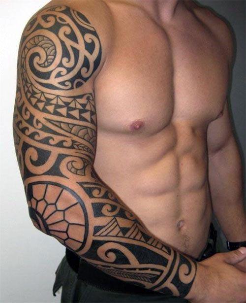 Top 57 Tribal Tattoo Ideas For Men 2020 Inspiration Guide In 2020 Tribal Sleeve Tattoos Tribal Tattoos For Men Full Sleeve Tattoo Design