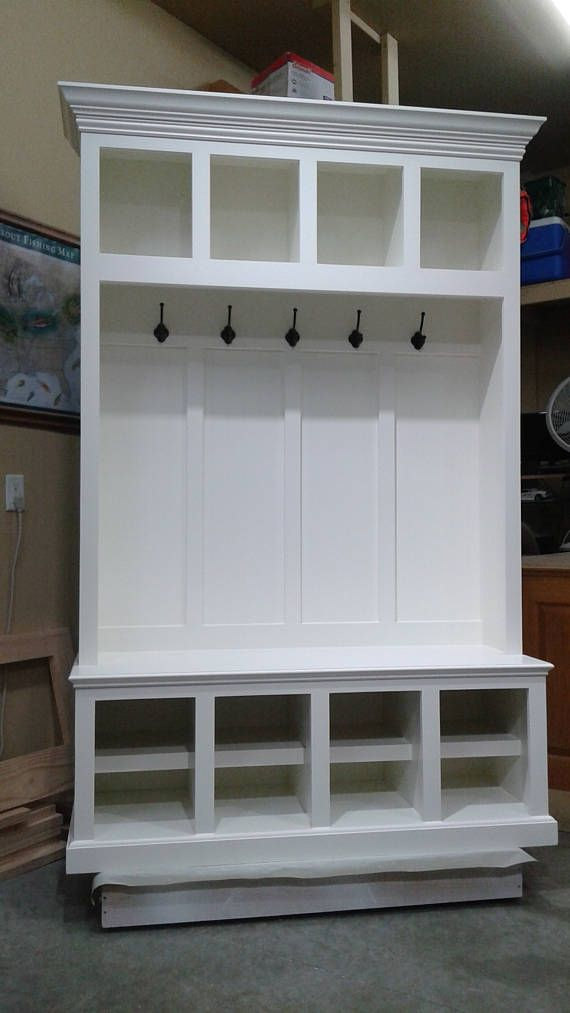 Mudroom Lockers Entry Furniture Hall Tree Storage Bench Cubbies 54 Wide Coat Hat Rack Entry Furniture Mudroom Lockers Hall Tree Storage Bench