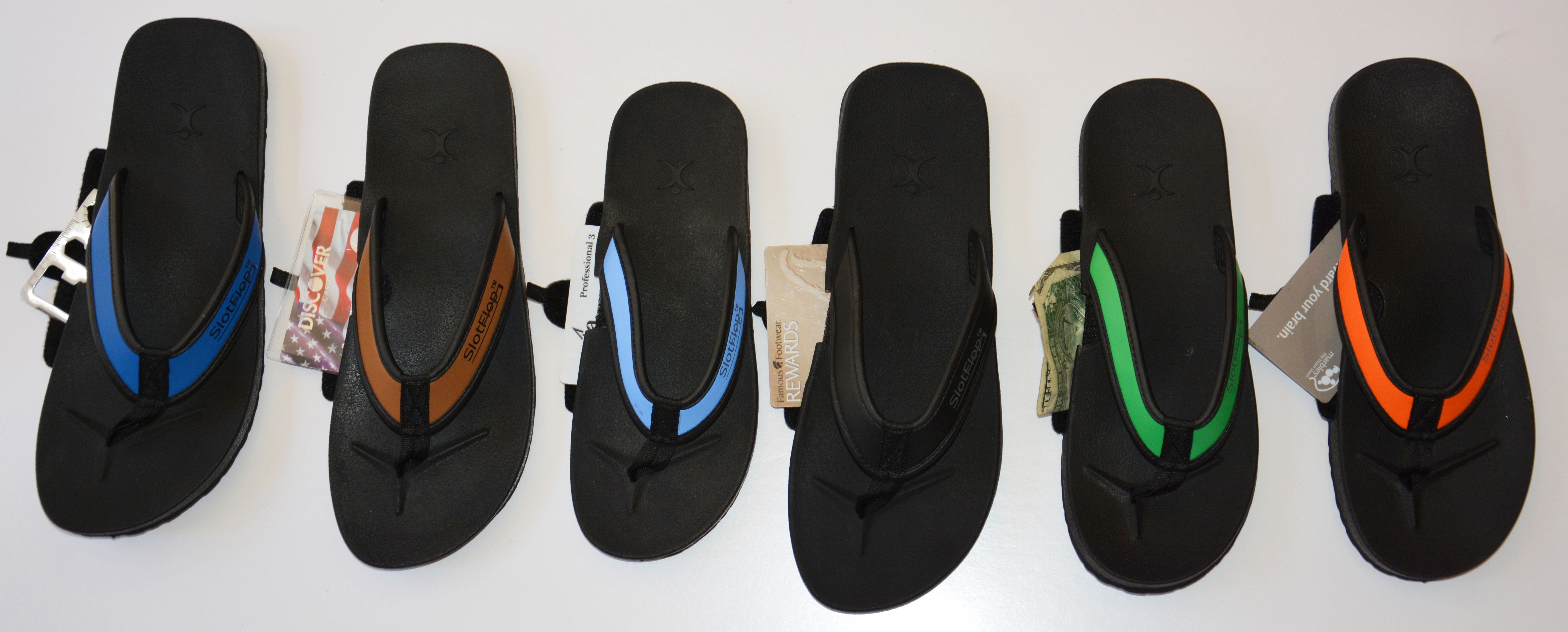 Keep your essentials safe & (literally) underfoot. Enter to win today's giveaway, Slot Flops! #GiftOfTravel