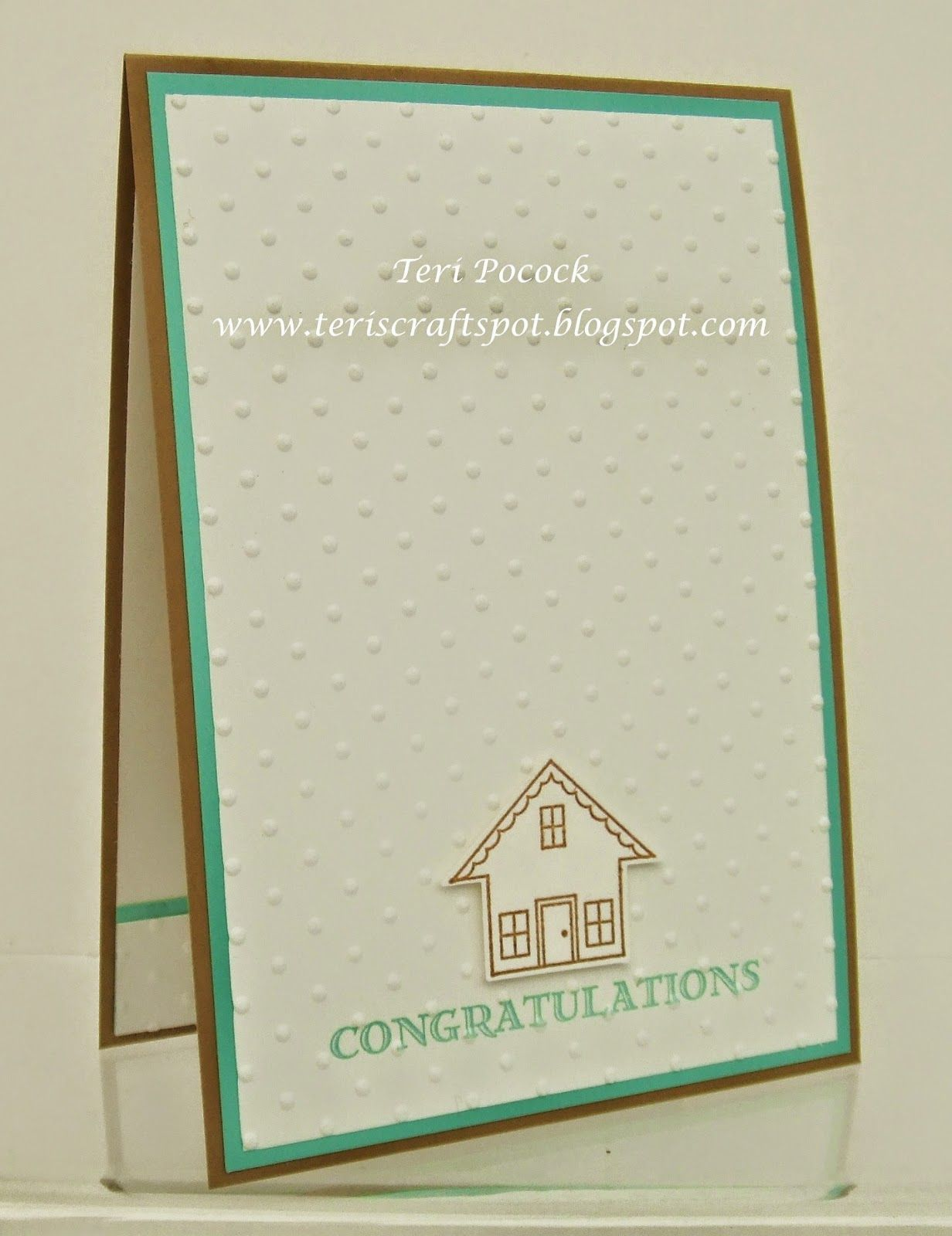 You Brighten My Day - New Home Card | Card Making | Pinterest ...