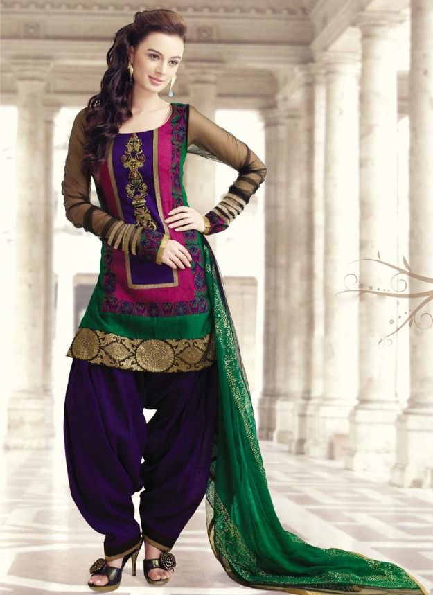 2af28881e6 Trending: See the Latest, Stylish Punjabi Designs Suit for Girls and Woman