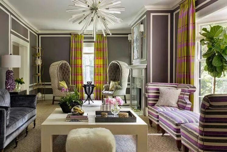 Love the furnishings and walls but I'd have to have a different chandelier, and draperies I don't like what's hanging.