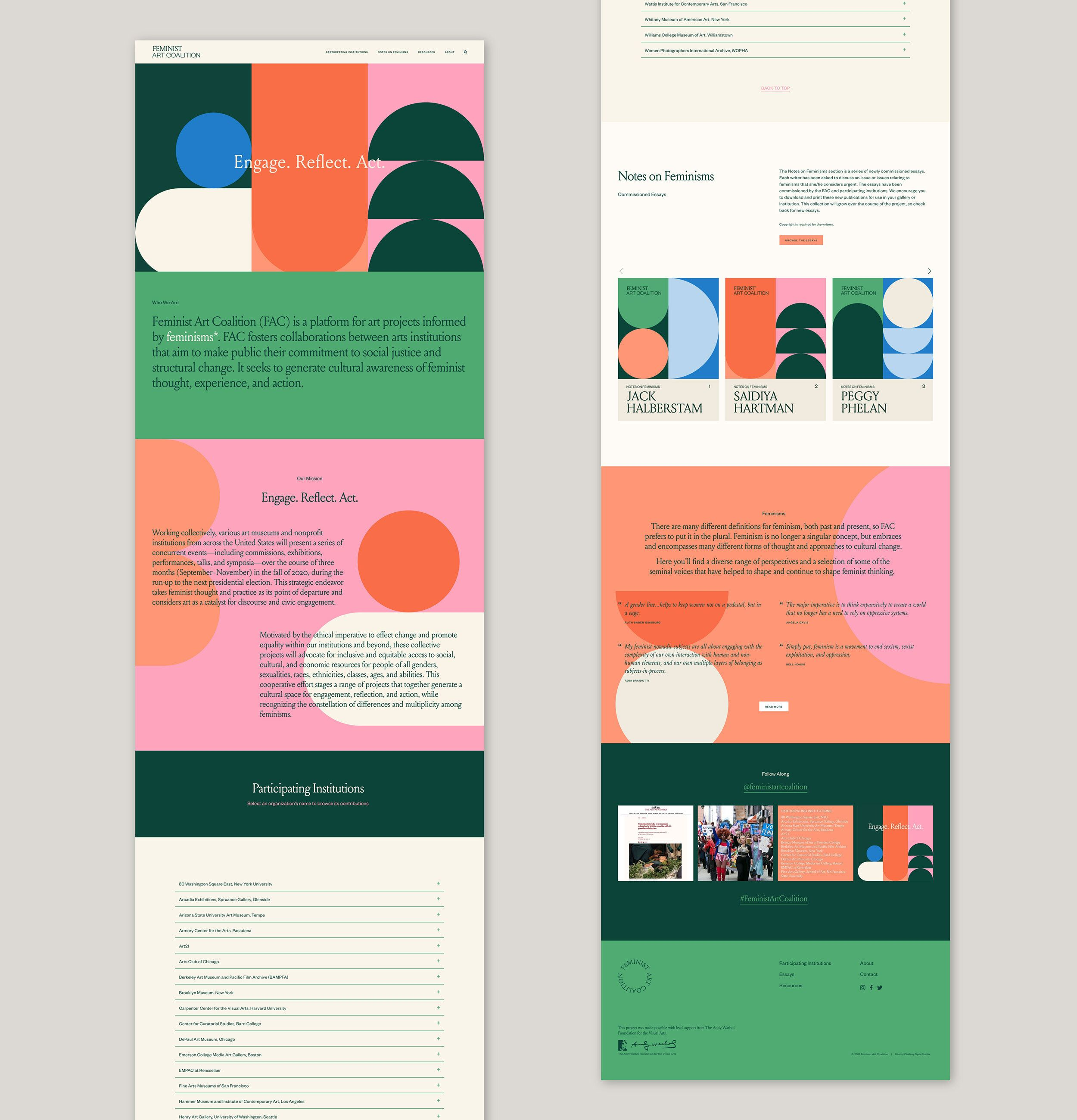 Fac Web 3 Jpg Feminist Art Website Design Graphic Quotes