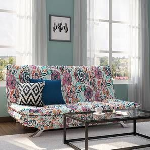 Flower Power The Edo Sofa Bed Now Boasts A Fresh Floral Print Priced At Rs 19 999 This One S A Bestseller For A Reaso Sofa Bed Design Comfortable Sofa Bed