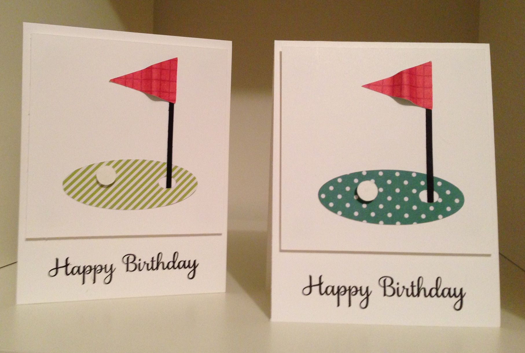 Golf Birthday Cards Layout From Joanne Press My Cards