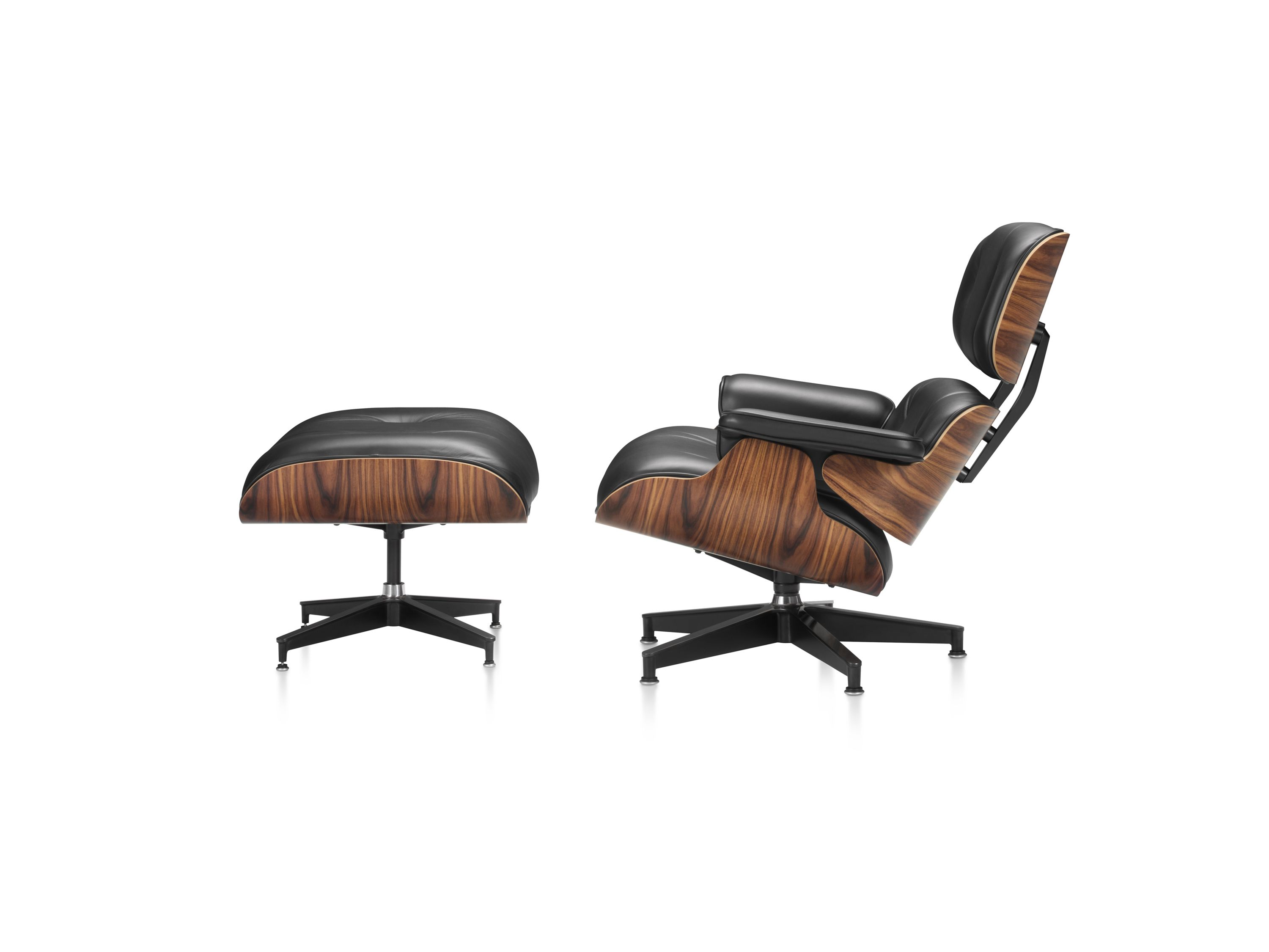 eames armchair and ottoman early original eames lounge. Black Bedroom Furniture Sets. Home Design Ideas