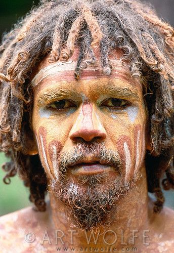 faces of australia traditional aboriginal face painting northern
