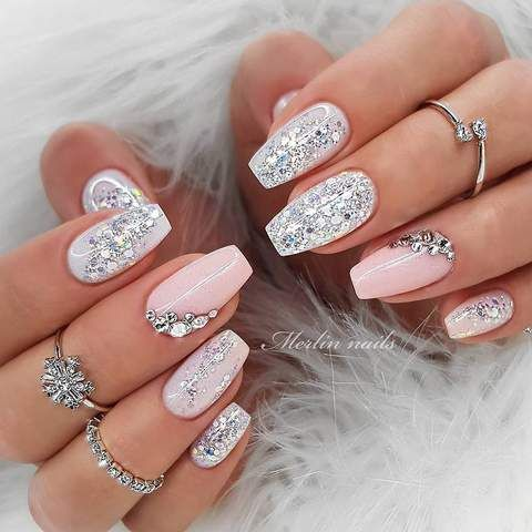 30 Cute Summer Nails Designs Fashion Glamour Trends 2019 Katty Glamour Cute Summer Nail Designs Spring Nail Colors Cute Summer Nails