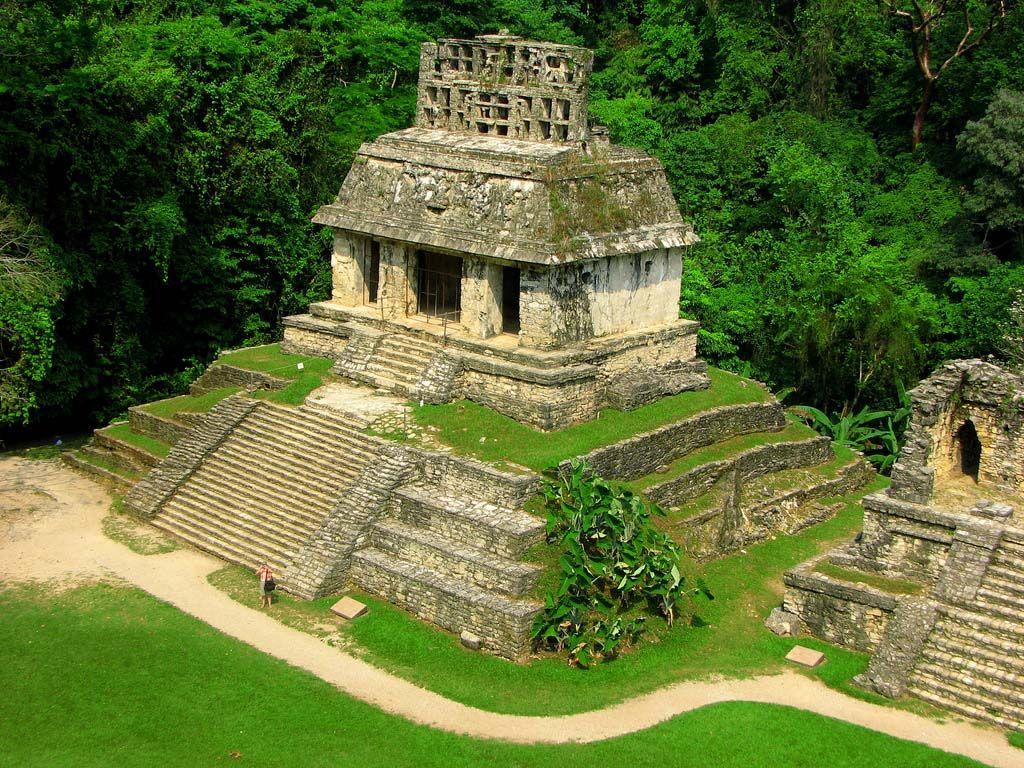 Обои мексика, город майя, древние цивилизации, паленке. Города foto 10