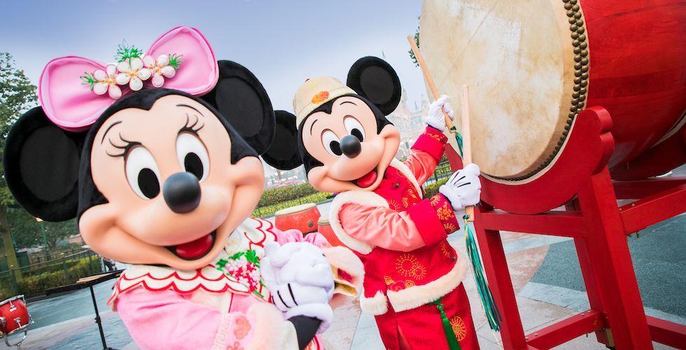 Shanghai Disney Resort Celebrates Chinese New Year With A Magical Twist Disney Shanghai Disney New Year Shanghai Disney Resort