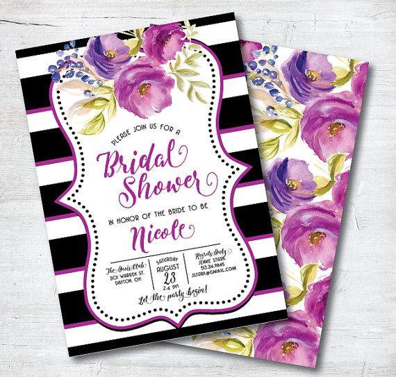 Lovely Purple Bridal Shower Inspiration