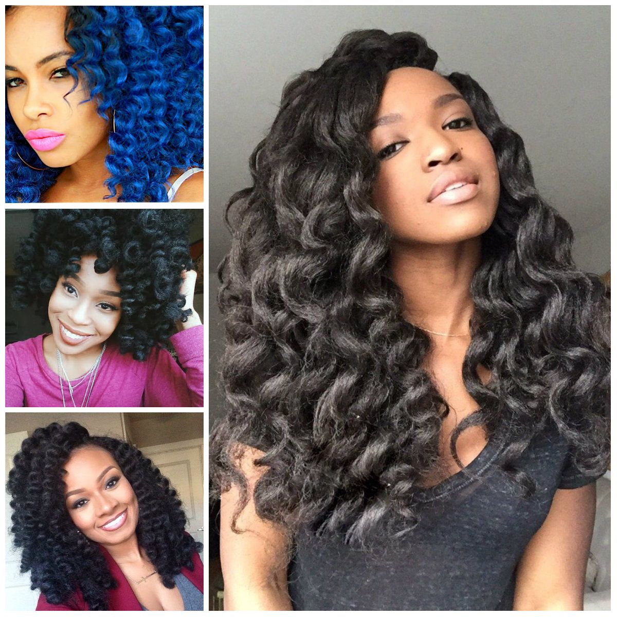 Crochet Braids Hairstyle Ideas For Black Women 2016 With Images