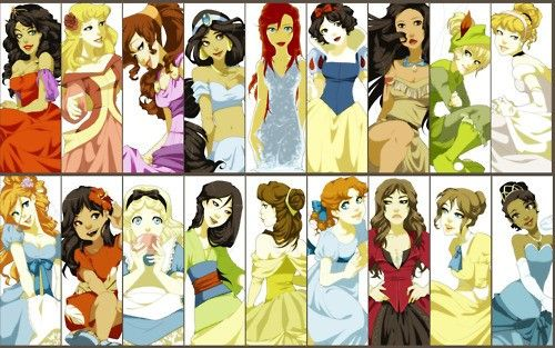 Esmeralda, Aurora, Megara, Jasmine, Ariel, Snow White, Pocahontas, Tink, Cinderella, Giselle, Lilo, Alice, Mulan, Belle, Wendy, ?????, Jane, and Tiana. Can Anyone help me out with the third from the right on the bottom row? What movie??