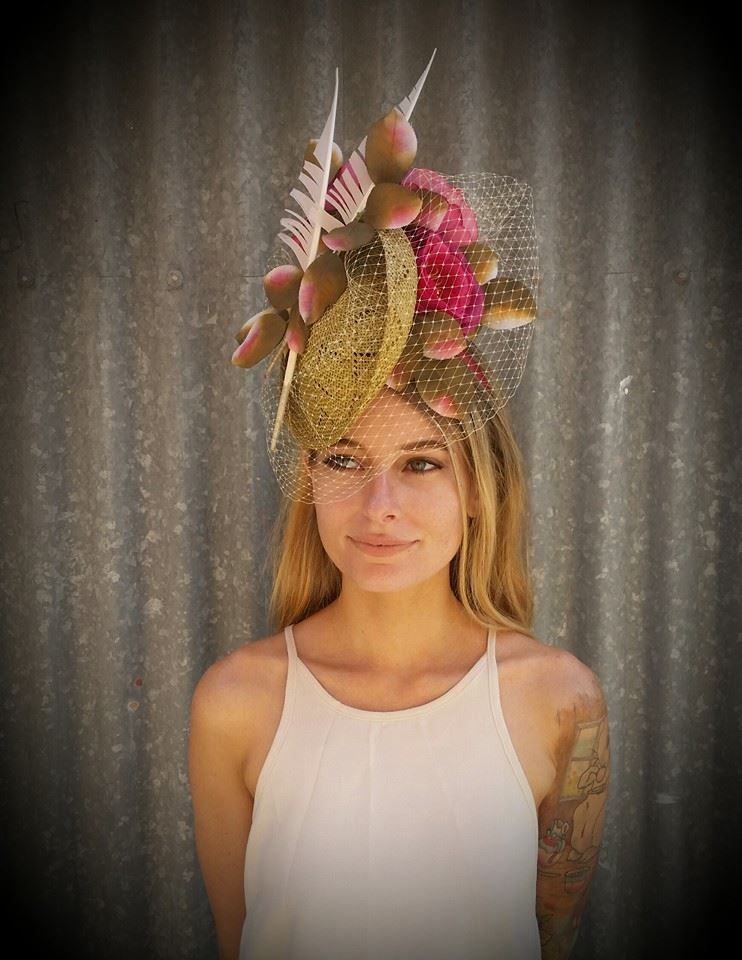 Fascinators, Hats, Millinery by Terence Greg