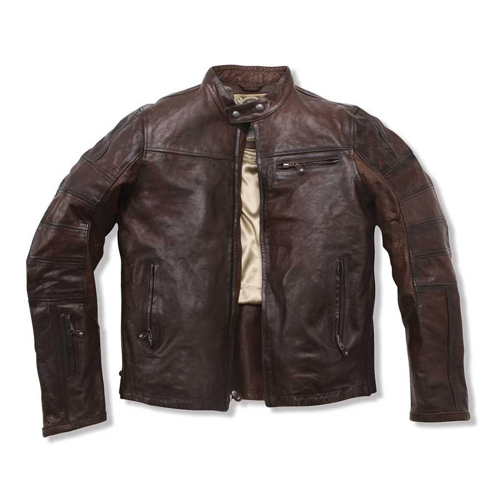Roland Sands Ronin Leather Jacket Tobacco Roland Sands Jackets Free Uk Delivery The Cafe Racer Cafe Racer Clothing Jackets Leather Jacket Men [ 1000 x 1000 Pixel ]