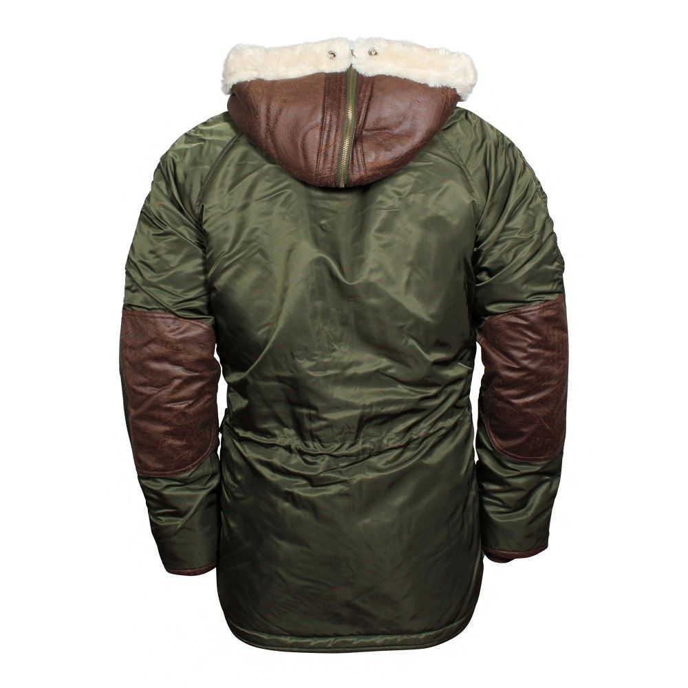 Alpha Industries Herren Parka N3-B3 Dark Green (grün)   stylische ... 74fc972abe