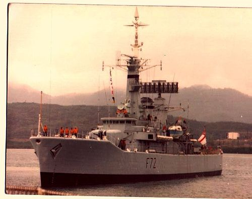 HMS Ariadne - Third ship - 1974-1975 | Navy | Royal navy