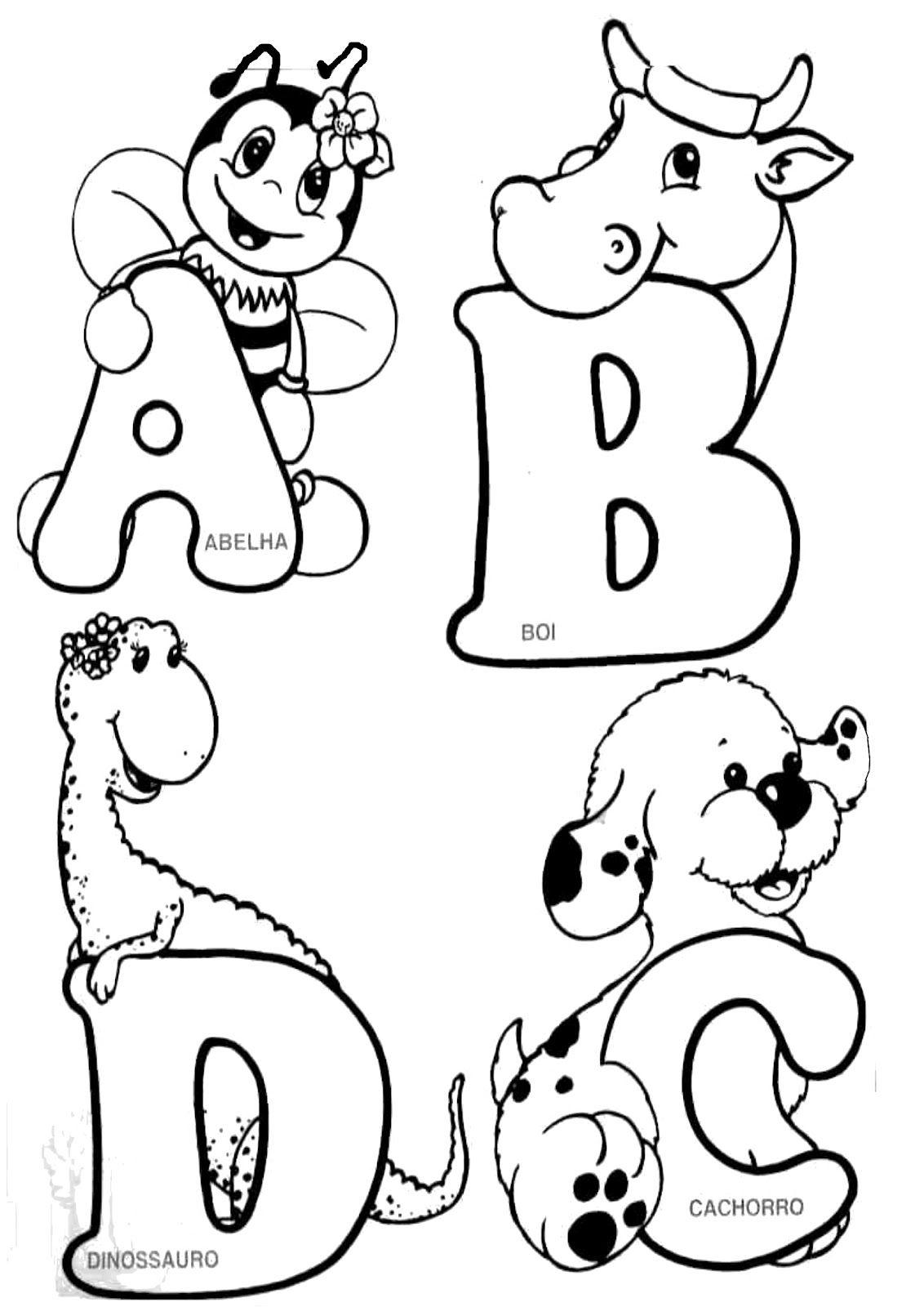 Alfabeto 252banimais 252b1 Jpg 1132 1600 Alfabeto Animal