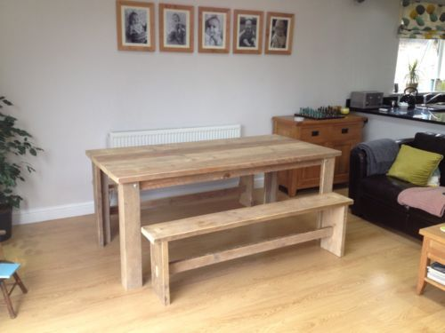Room Scaffold Board Table Benches