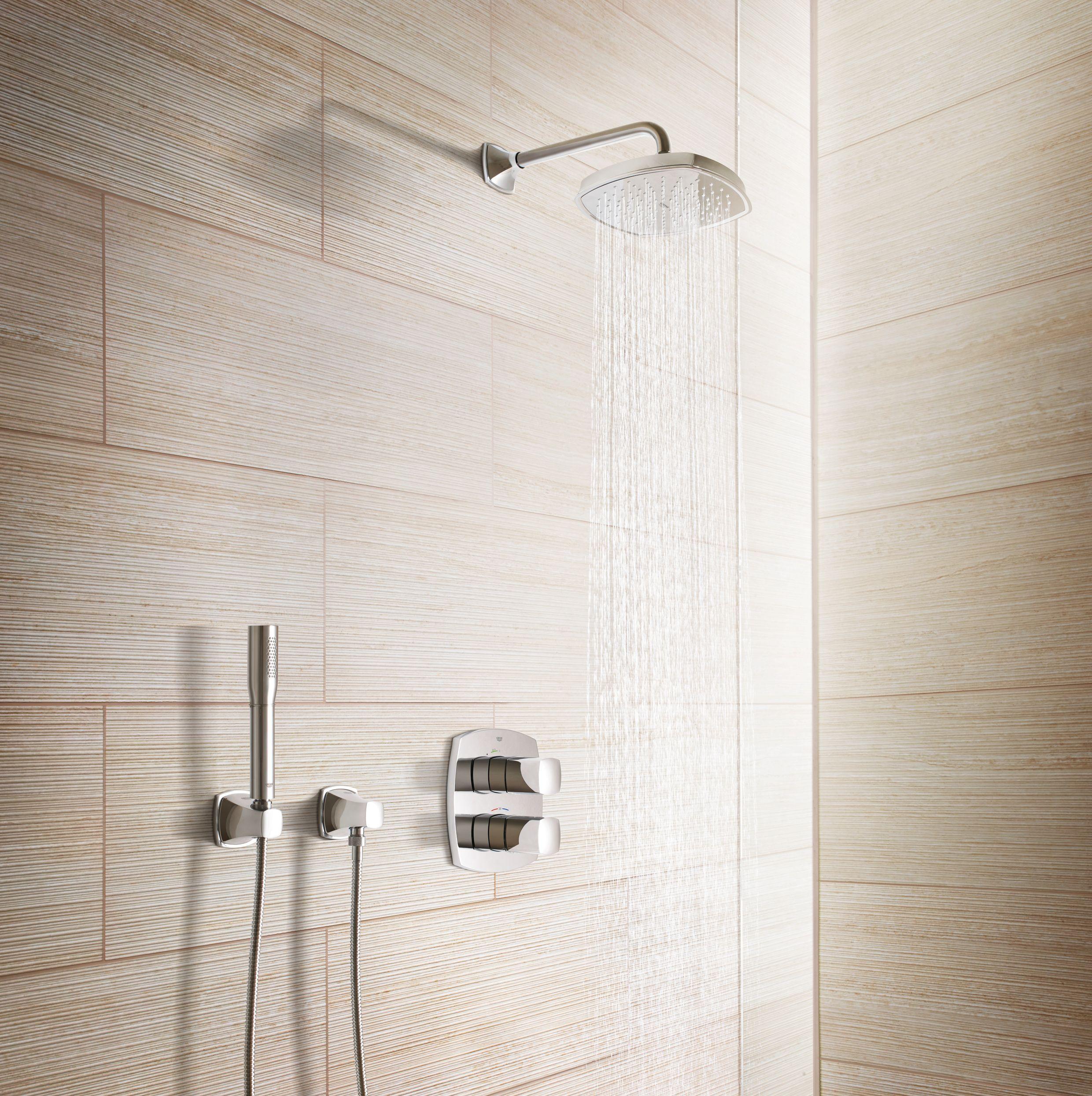 Grohe Grandera Badarmaturen Fur Ihr Bad Shower Panels Glass Shower Wall Shower Wall Panels