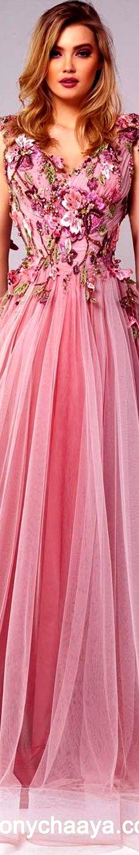 e7b9067c0d12 Tony Chaaya 2018 Floral Style, Floral Lace, Floral Fashion, Salvatore  Ferragamo, Fashion