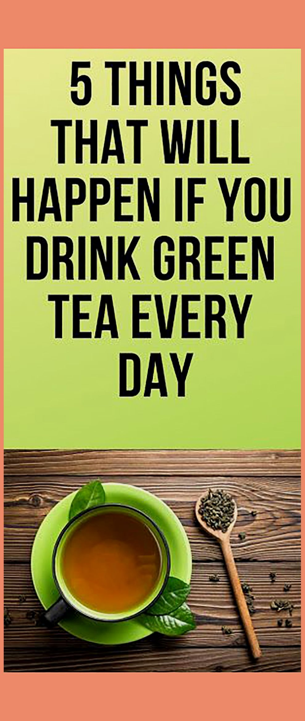 Photo of 5 Things That Will Happen If You Start Drink Green Tea Every Day