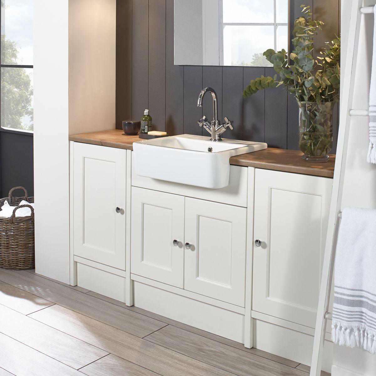 Roper Rhodes Burford Chalk White  Fitted bathroom