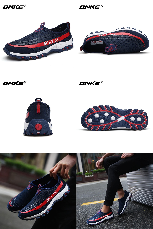 Visit to Buy] ke Uni Summer Sneakers Breathable Men Running
