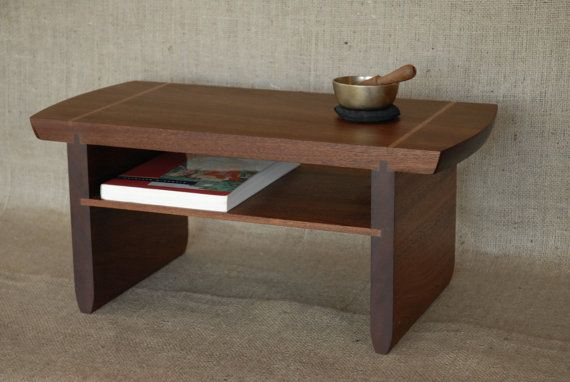 Meditation   Puja Table In Brazilian Cherry