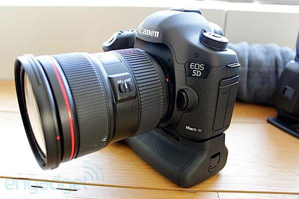 Canon Eos 5d Mark Iii 22 3 Mp Full Frame Sensor 6 Fps 102 400 Max Iso 1080 30p Hd 3 500 Full Frame Sensor Camera Lenses Canon Newest Canon Camera