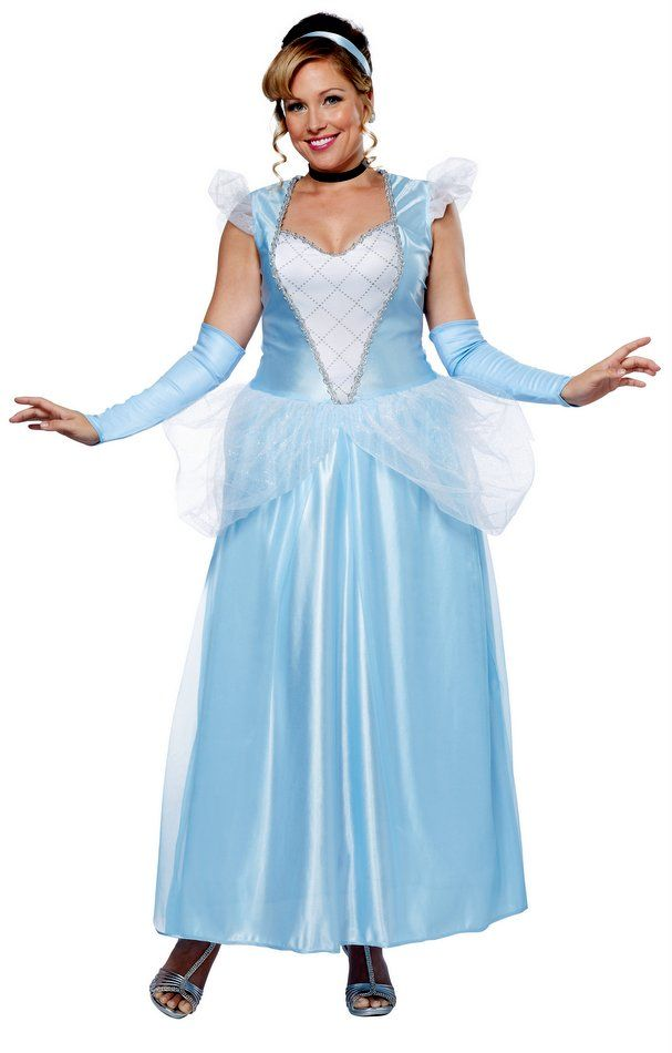 Plus Size Adult Classic Cinderella Costume - Candy Apple Costumes - Browse All Womenu0027s Costumes  sc 1 st  Pinterest & Plus Size Adult Classic Cinderella Costume - Candy Apple Costumes ...