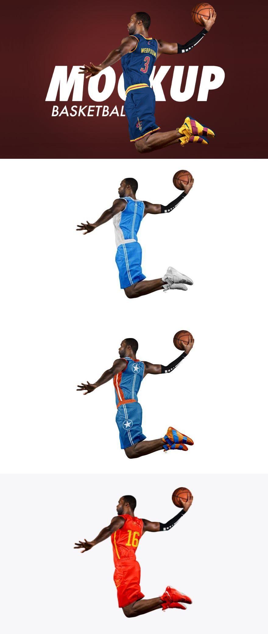 Download Free Basketball Uniform Mockup Freebie Mockup Psd Psdmockups
