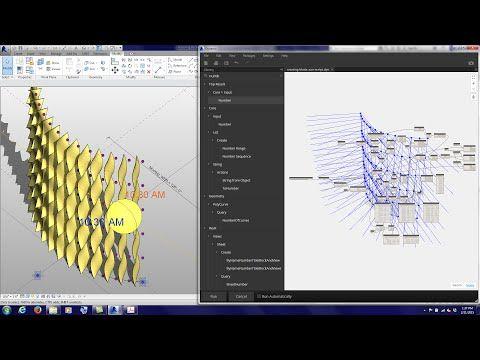 20150221 Tutorial Dynamo Rotating Panel Sun Script - YouTube