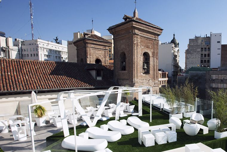 mejores terrazas Madrid - Gymage Lounge