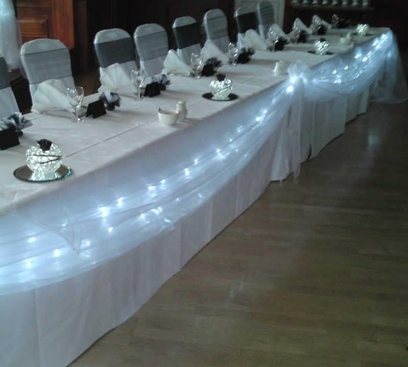 Image detail for -LaCoste & Ling Wedding: Wedding Projects #6: Head Table Decorations