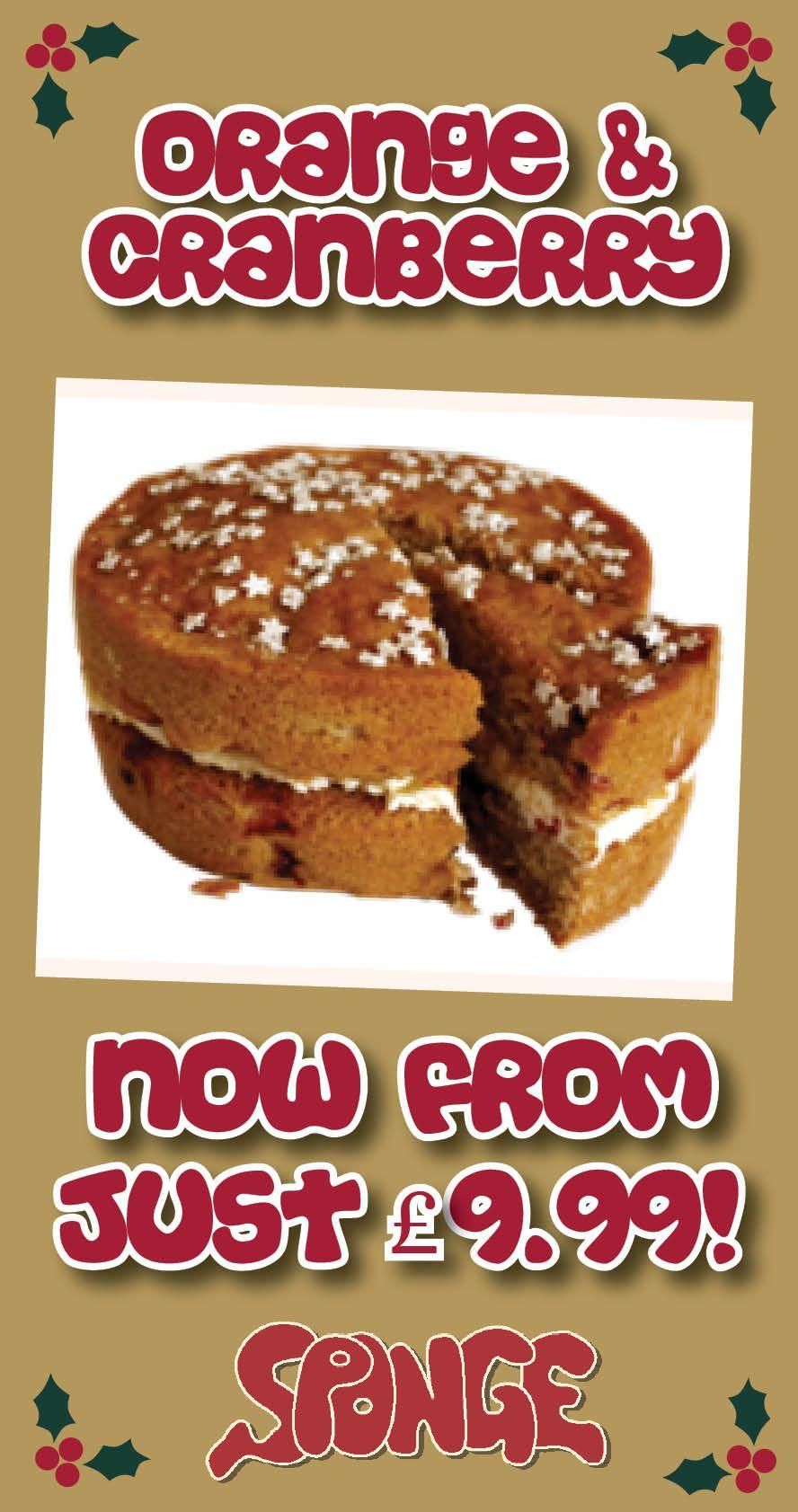 Tremendous Sponge Sponge Cakes Cake Delivery Bakers Birthday Gift Personalised Birthday Cards Paralily Jamesorg