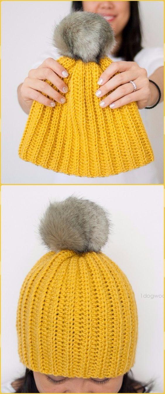 Crochet Cable Hat Free Patterns | Mütze und Schals