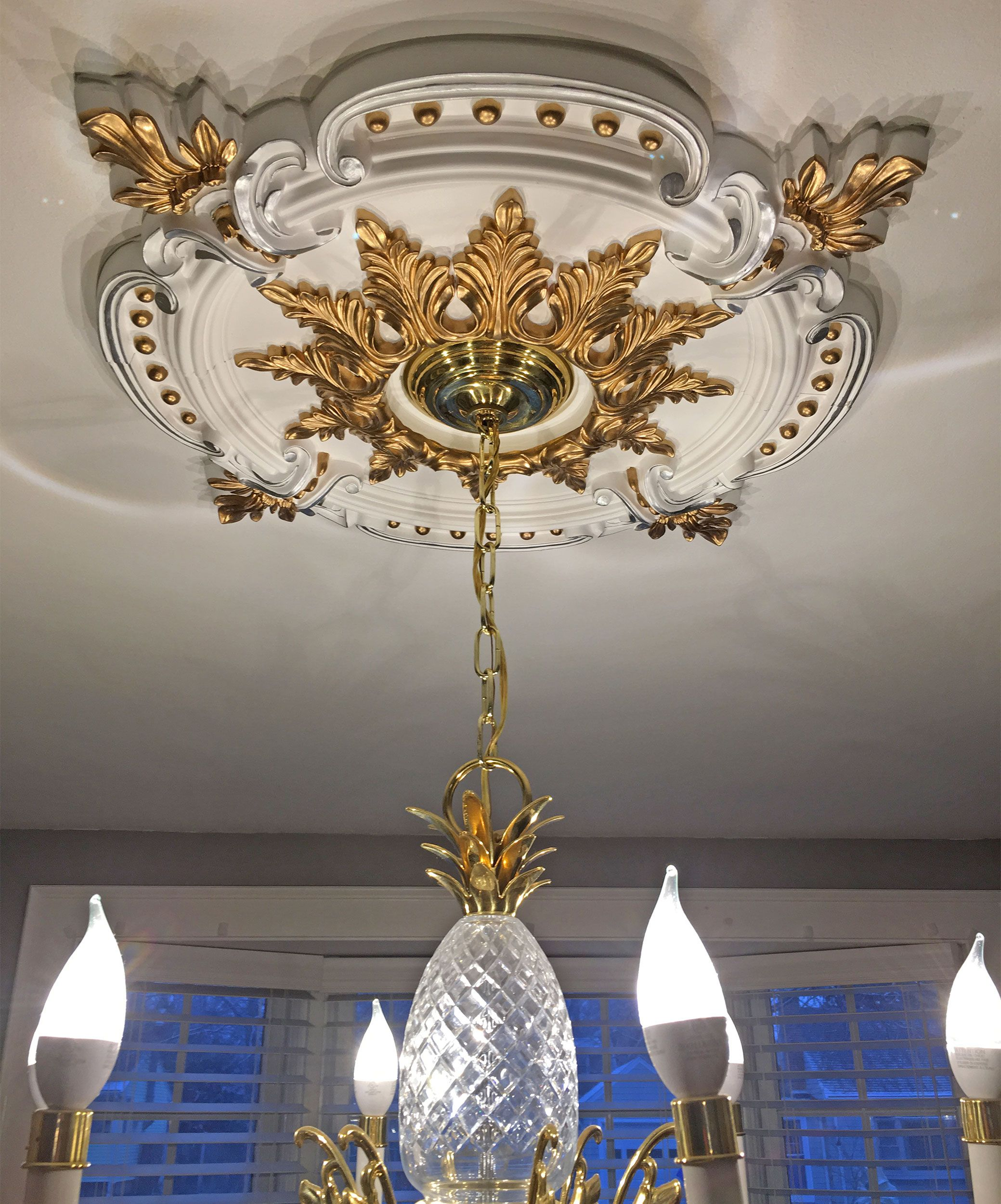 granada ekena pictures project architectural depot medallion millwork chandelier ceiling