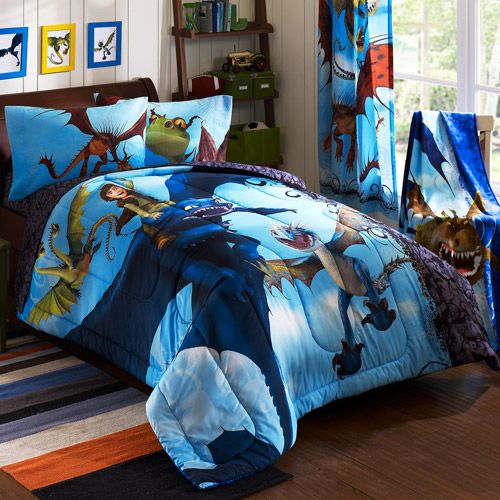 How To Train Your Dragon Juvenile Bedding Comforter