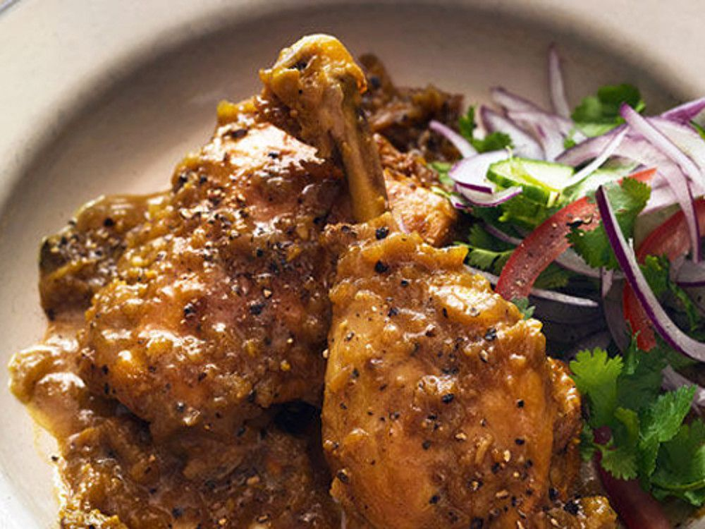 Spice Trip - Articles - Fiery Black Pepper Chicken Recipe - All 4