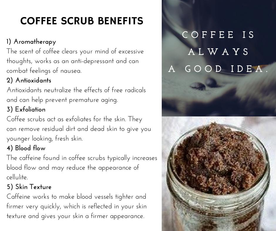Homemade skin care recipes coffee scrub