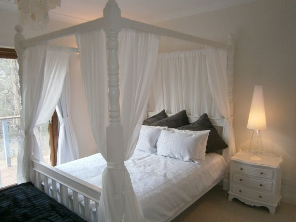 White 4 Post Bed Google Search