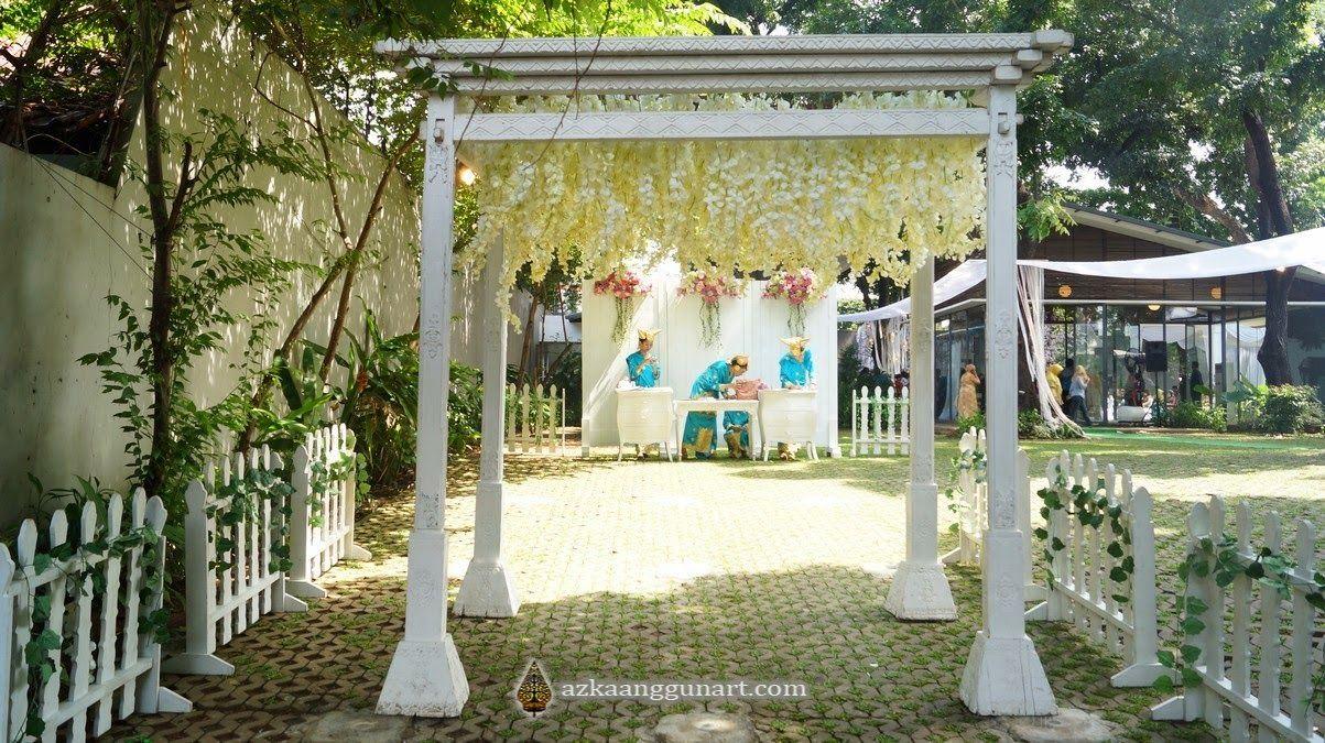 Inspirasi Konsep Pernikahan Di Rumah Favorit Pelaminan Di 2019