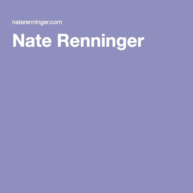 Nate Renninger