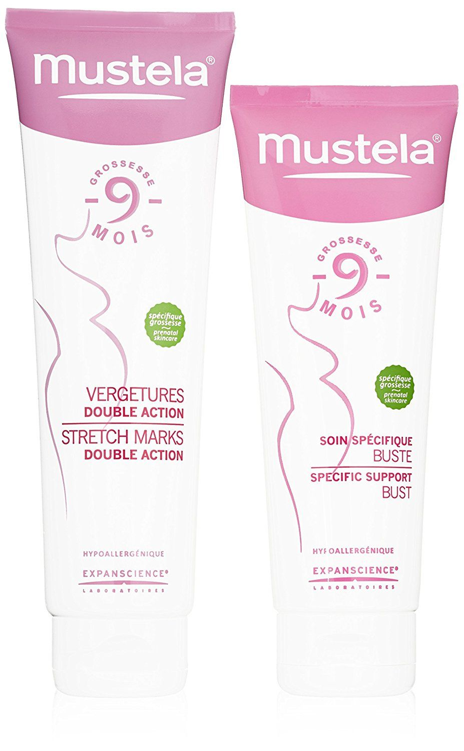 Mustela Belly And Bust Stretch Marks Survival Kit This Is An