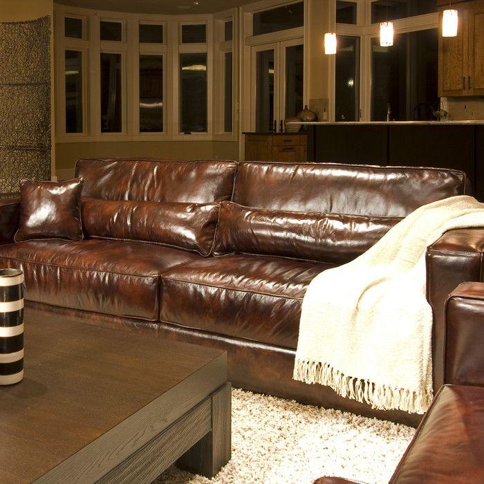 Wayfair Top Grain Leather Sofa, Home Element Furniture Reviews