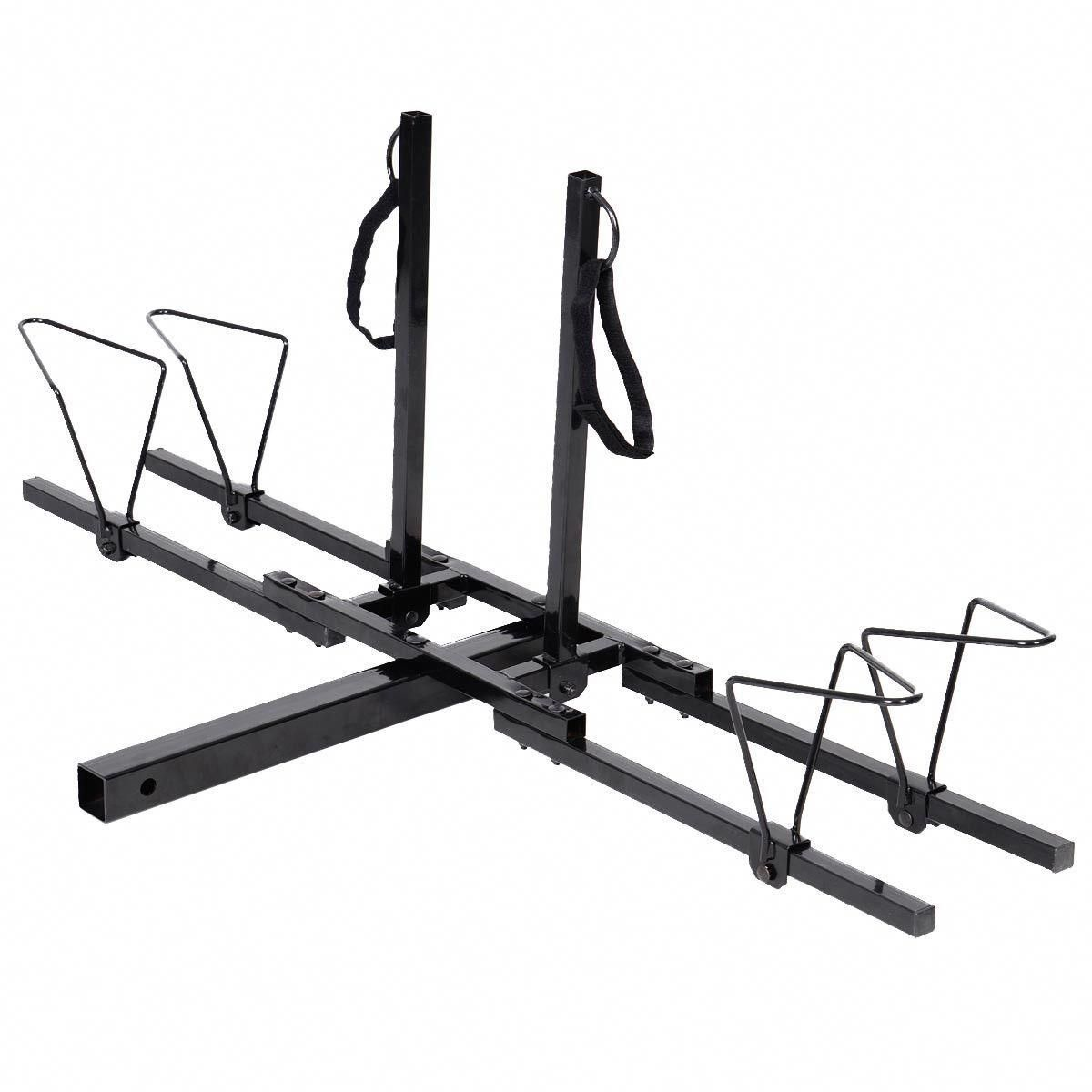 """2/"""" Heavy Duty 2 Bicycle Hitch Mount Carrier"""