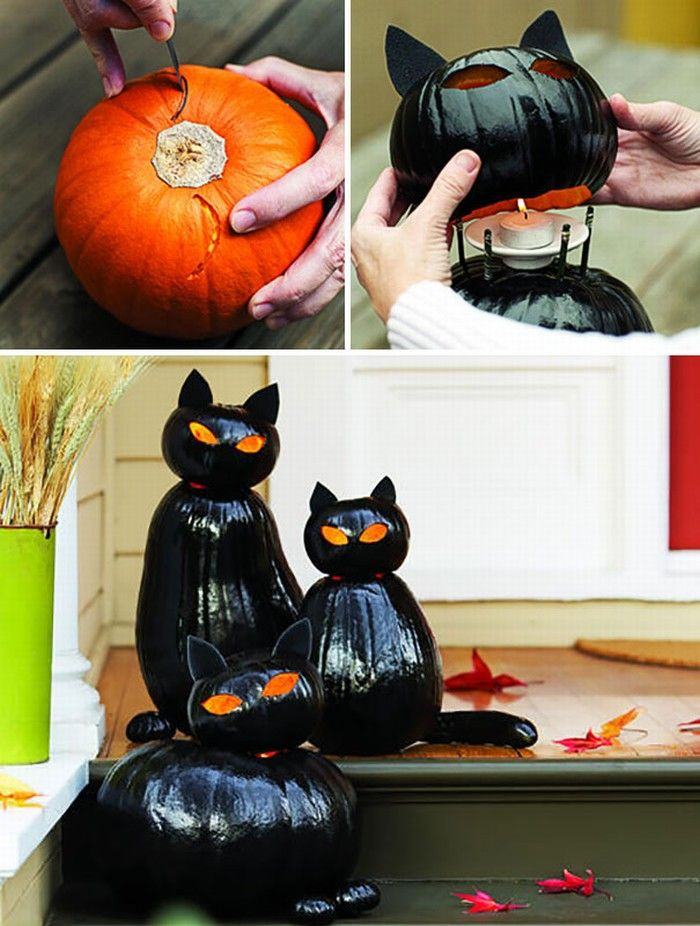 25 DIY halloween Decoration Ideas halloween Pinterest DIY - cheap easy diy halloween decorations