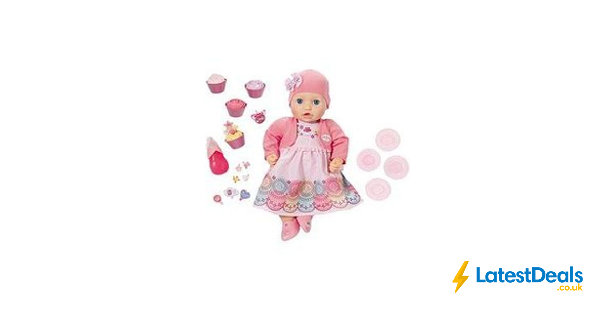 Baby Annabell My Special Day Doll Free C&C, £49.99 at Very ...