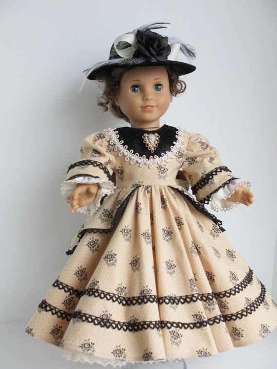 10+ images about 18 inch doll clothes and patterns on Pinterest | Doll dresses, American girl ... #historicaldollclothes